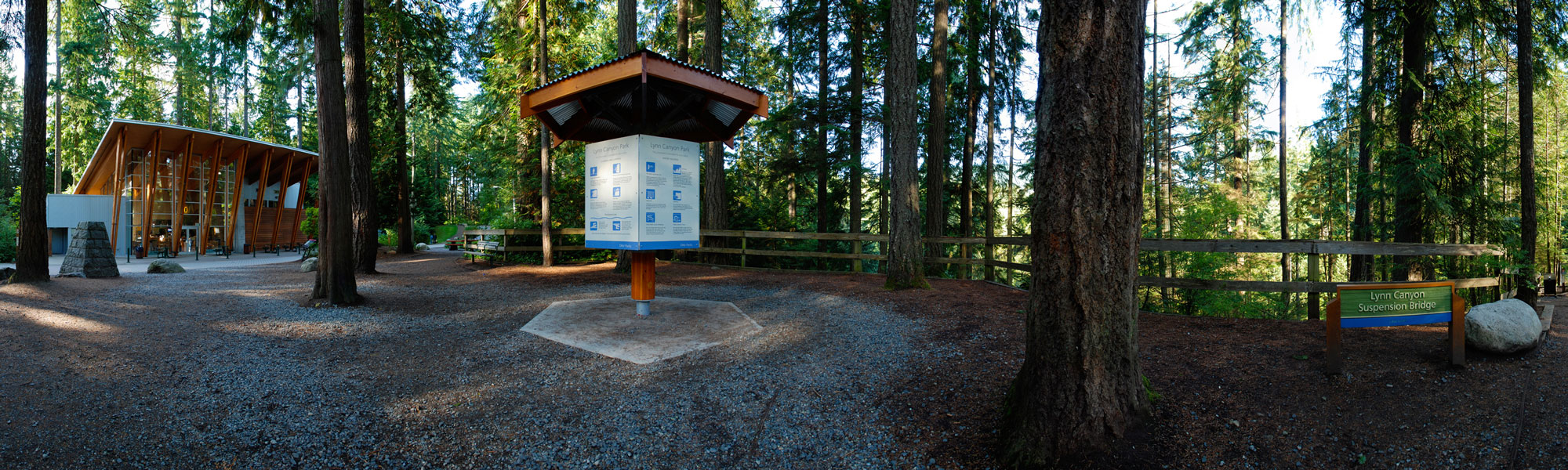 Lynn Canyon Park Entrance
