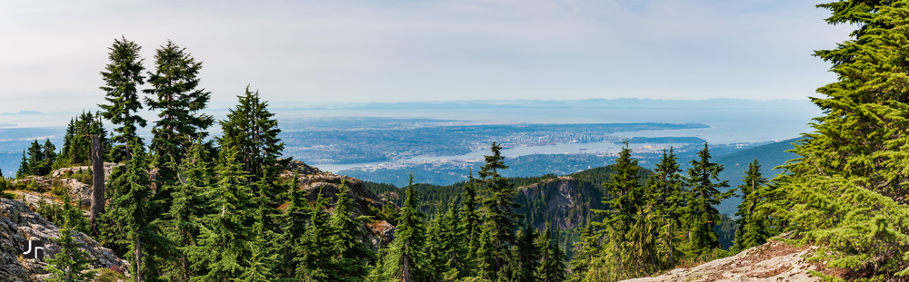 mount seymour panoramic view